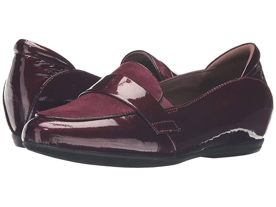 Earth Bremen Earthies (Burgundy Crinkled Patent) Women