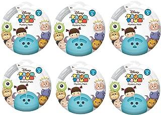 Bundle of 6: Disney Tsum Tsum Mystery Stack Pack Series 5