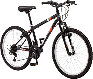 24 Roadmaster Granite Peak Boys Mountain Bike (24 Inches (Wheel Diameter), Black)
