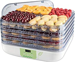 BEPER 90.507 Déshydrateur de Fruits, 350 W, Blanc