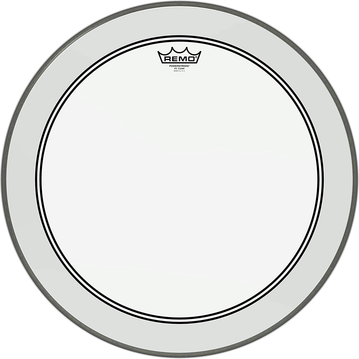 Remo Under blast sales Powerstroke P3 Clear Drumhead Manufacturer regenerated product Bass 22