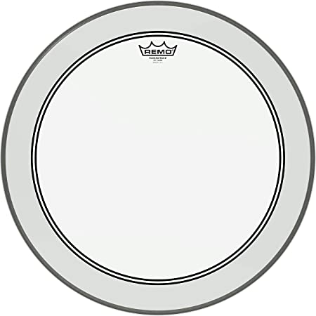 """Remo Powerstroke P3 Clear Bass Drumhead, 22"""""""