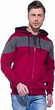 Alan Jones Full Sleeve Solid Men's Hooded Sweatshirt