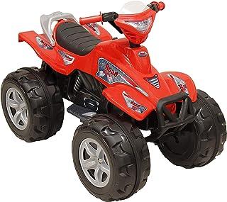 Prinsel Moto Electrica, Road Boy, 6V, Rojo, Paquete de 1 Cou