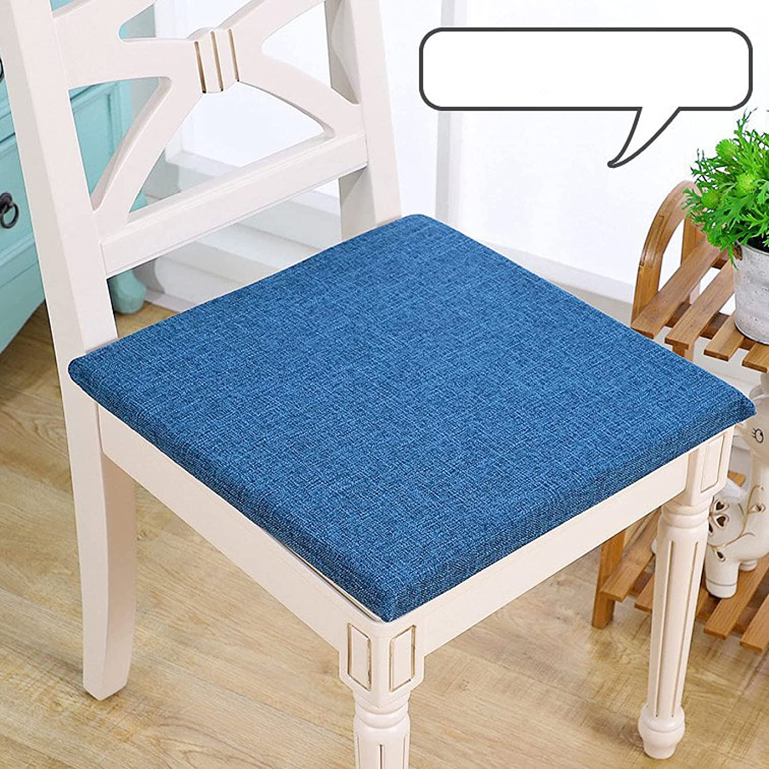 Limited price Chairs Seat Pads - Cotton Cushions Anti-Slip Square Mail order Thicken Soft
