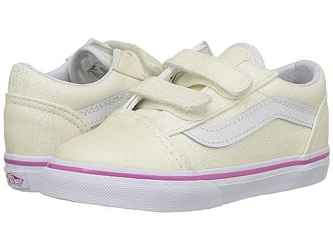 56c6b6be655436 Vans Kids Old Skool V (Toddler) at 6pm