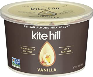 Kite Hill Yogurt, Vanilla, 16 Ounce