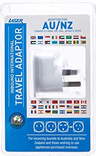 Laser Travel Adaptor Using in Australia and Nz