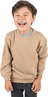 Leveret Kids & Toddler Sweatshirt Boys Girls Long Sleeve Shirt Variety of Colors (Size 2-14 Years)