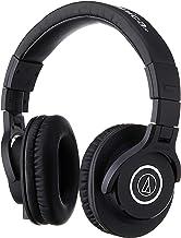 Audio-Technica ATH-M40x Professional Studio Monitor Headphone, Black, with Cutting Edge..
