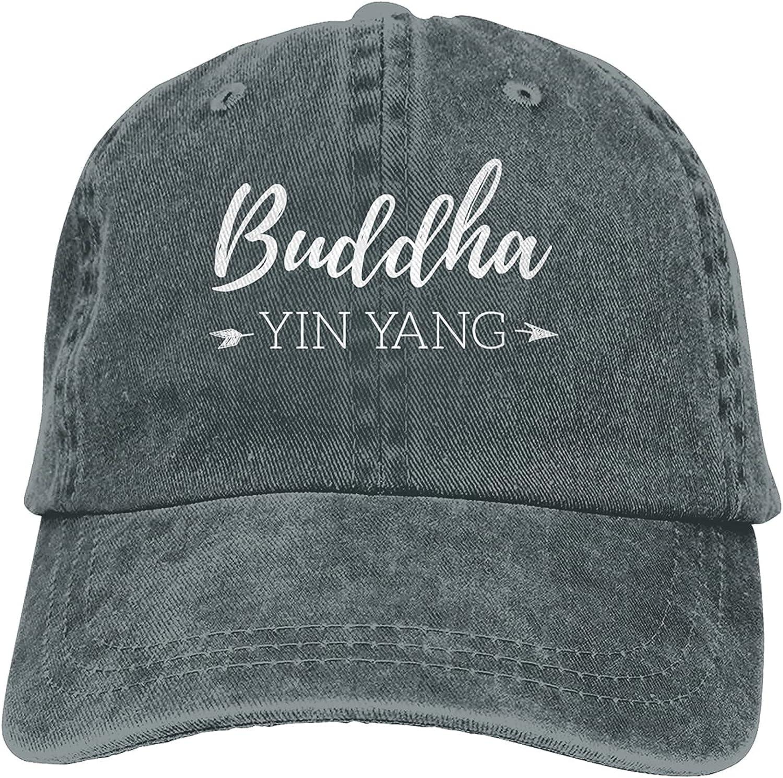 Buddha Yin Yang Baseball Cap Trucker Dad Cl Hat Retro Daily bargain sale Easy-to-use Cowboy