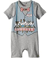 Stella McCartney Kids - Kit Ice Cream Print All-In-One Onesie (Infant)