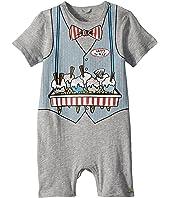 Stella McCartney Kids - Kit Ice Cream Print All-In-One Onesie (Infant)