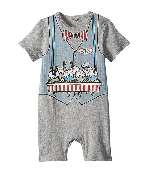Stella McCartney Kids Kit Ice Cream Print All-In-One Onesie (Infant)