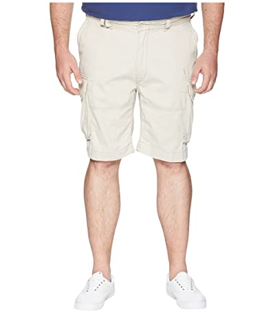 Polo Ralph Lauren Big & Tall Big Tall Vintage Chino Gellar Fatigue Shorts (Classic Stone) Men