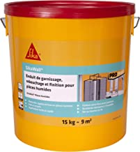 SikaWall grondlaag, vulling en gladmaken, speciaal voor vochtig deeg, gebruiksklaar, deeg, 15 kg ~ 9 m2 15kg Lichtblauw