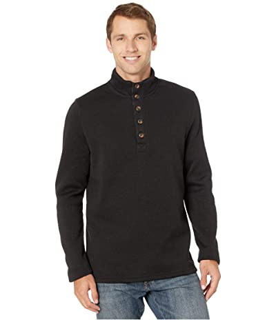 Stetson 2247 Bonded Sweater Knit Pullover (Black) Men