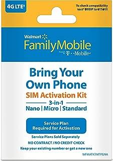 Walmart Family Mobile Sim Kit