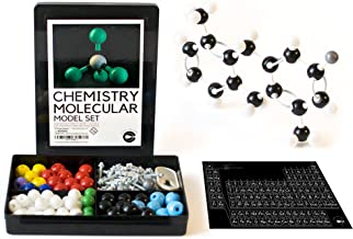 Chemistry Molecular Model Set and Periodic Table of Elements Sticker