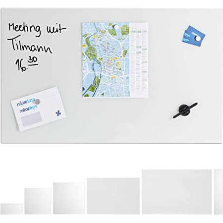 lavagna Memo Board bacheca magnetica 45 x 60 cm lavagna bianca