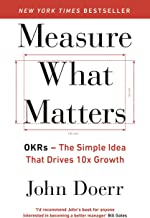 By[John Doerr] Measure What Matters Paperback