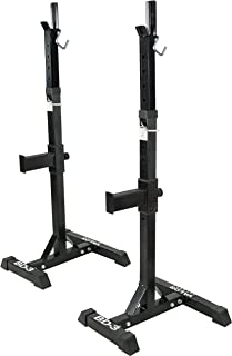Valor Fitness Squat Stand/Squat Rack Tower Bench Press Stands Weight Lifting Garage Home..