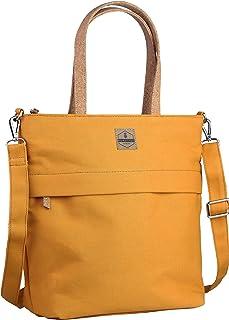 Kuratist 2-in-1 Damen Canvas Handtasche und Schultertasche Kompakt mit 10L Volumen - MIA - Allrounder für Arbeit Uni Schul...