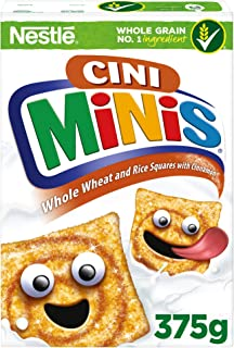 Nestle Cini Minis Cinnamon Breakfast Cereal, 375g