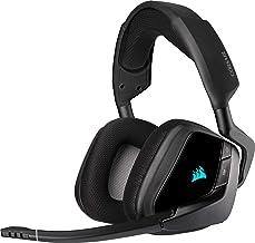 Corsair Void Elite RGB Wireless Gaming Headset (7.1 Surround Sound, Low Latency 2.4 GHz Wireless, 40ft Wireless Range, Cus...