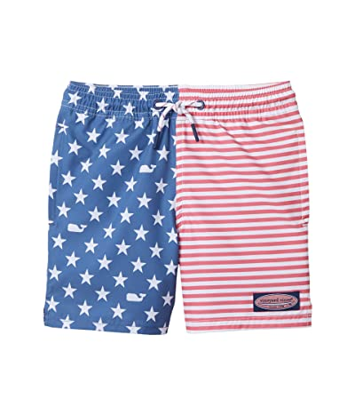 Vineyard Vines Kids Americana Printed Chappy (Toddler/Little Kids/Big Kids) (American Flag) Boy