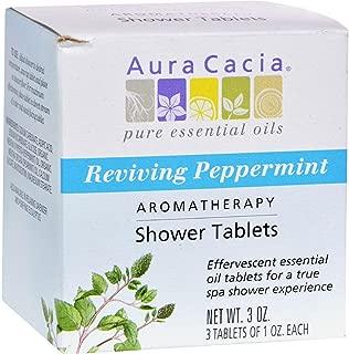 Aura Cacia, Shower Tablets Peppermint, 3 Ounce