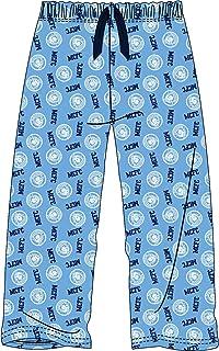 Mens Manchester City Football Club Blue Lounge Pants Pyjama Bottoms Pyjamas Extra Large
