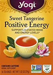Yogi Tea Bags, Sweet Tangerine for Positive Energy, 16 Count (Pack May Vary)