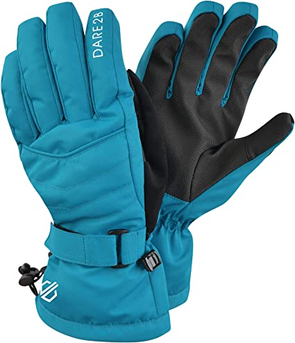 Dare 2b Womens Acute Waterproof and Breathable Padded Ski and Snowboard Glove With Warm Scrim Lining
