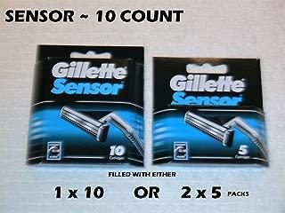 Procter & Gamble Dist 900969 Gillette Sensor Cartridges 10/Pkg