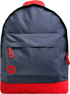 Mi-Pac Classic Rucksack für Freizeit, Segeltuch, Marineblau / Rot
