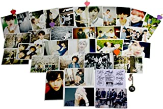 Best Fanstown BTS Bangtan Boys Postcard with lomo Cards+ONE Pendant Review