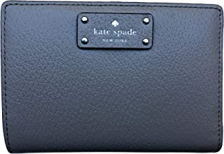 Kate Spade New York Grove Street Tellie Embossed Leather Wallet (Soft Taupe)