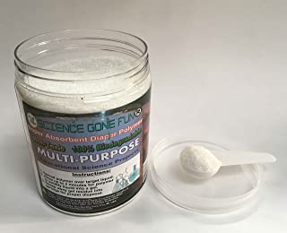 Science Chemistry Fun Hands On Project with 1 Pound Super Absorbent Diaper Polymer