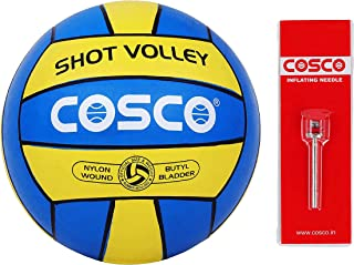 Cosco Unisex Adult Volley Ball Shot, Multi-Colour, 4
