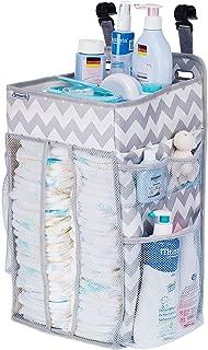 and Storage SUNMIK Hanging Diaper Caddy Organizer Large Nursery Room Crib Car