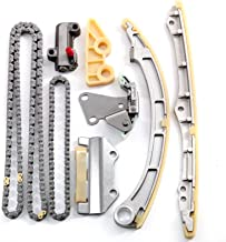 OCPTY Timing Chain Kit Tensioner Guide Rail Oil Pump Chain fits for 2002-2009 Honda Civic Acura RSX 2.0L K20Z3 TS21830