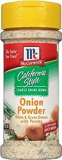 Best McCormick California Style Coarse Grind Blend Onion Powder, 2.62 oz Reviews