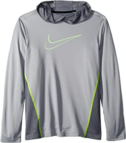 Nike Kids Dry Hooded Training Top (Little Kids/Big Kids)