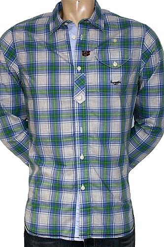 Napapijri galesburg-chemise à hommeches longues