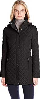 Women's Classic Quilted Jacket with Side Tabs