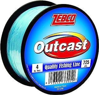 Quantum Zebco 30024 Outcast Mono Fishing Line Blue, 725-yard/4-pound
