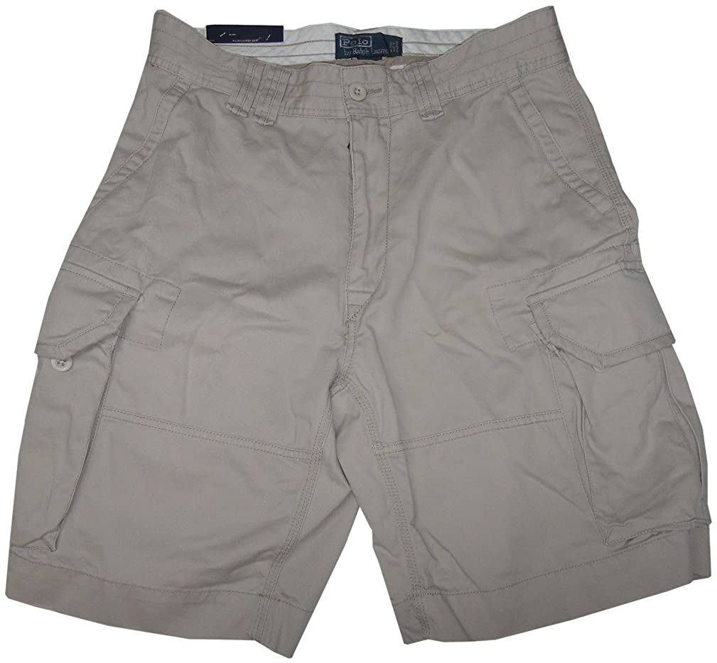 Polo by Ralph Lauren Men's Gellar Fatigue Cargo Shorts Beige