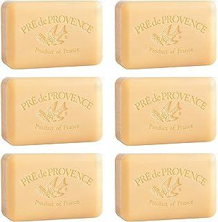 Pre De Provence Sandalwood Soap 250g Gram 8.8 Ounce Shea Butter Enriched 6 Pack