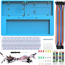 UNIROI Breadboard Kit with RAB Holder with Arduino IDE UNOR3, Arduino Mega 2560, Raspberry Pi 3B+, 3B, 2B, 1B+ Zero W, and Breadboard UA032